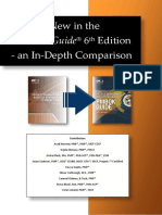What is New in PMBOK Guide 6th Ed