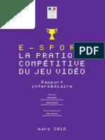 Rapport Etape Esport Mars2016