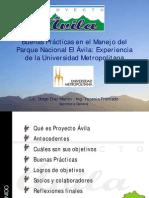Proyecto Ávila UCV Vitalis