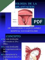 2. Fisiologia de Implantacion