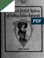 Eugene Pecoris Perfect System of Cutting Ladies Garments 1912