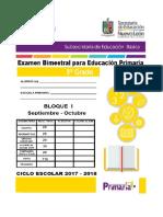 EXAMEN 3R0. BLOQUE 1 2017-2018
