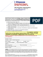 Chesterfield Registration Form