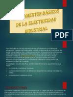 Diapositiva(Fundamentos Básicos de La Electricidad Industrial)