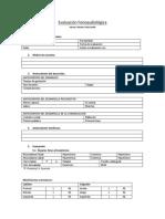 Evaluación Fonoaudiológica