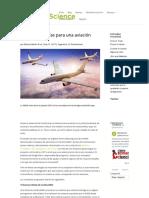 Cinco Tecnologías Para Una Aviación Sostenible...
