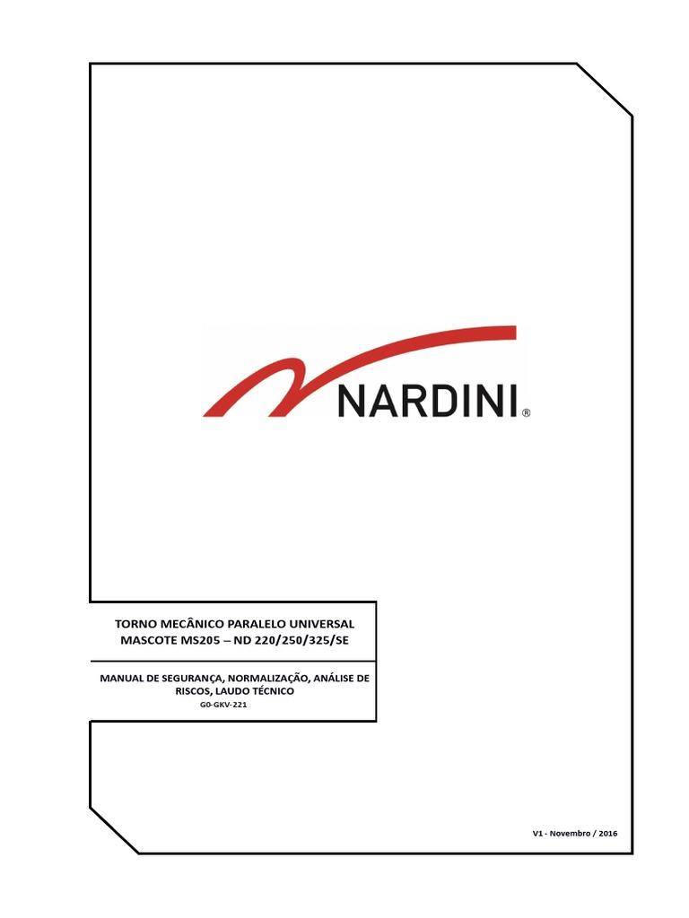 Modelo Manual Segurança Ms Nd220 250 325 g0-Gkv-221
