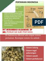 3. Sistem Pertanian Indonesia