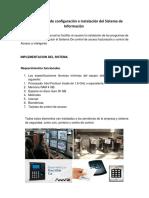 Determinacion de Configuracion InstalacionDel Sistema de Informacion
