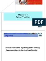 CCNA1 Cable Testing