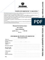 Scania DI12 Manual