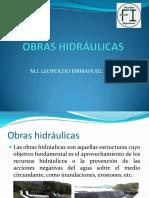 Clasificación de Obras Hidráulicas