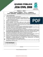 Prova Farmacia Civil2008