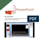 Que es PowerPoint?