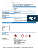 Ethylene Oxide c2h4o Safety Data Sheet Sds p4798