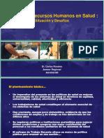 Capacidades Respuesta Sist de Salud RH-OPS-Jose Ruales