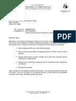 Michigan Catholic Social Services Investigative Report 2007