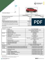 Renault Captur Pricelist CKD 2017