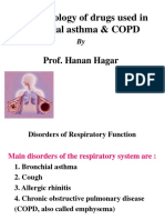 Lecture 4, 5- Drugs Used in Bronchial Asthma & COPD