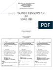 Multi Grade Lesson Plan in English1