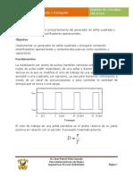 Practicas 7 - Generador de Onda Cuadrada y Triangular
