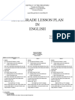 Multi Grade Lesson Plan in English2