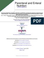Consenso ASPEN y Academia Nutrición Recomendaciones Para Diagnosticar Malnutricion 2012 (2)