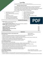 resume phan lynna w17