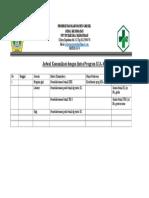 4.1.1.6 Jadwal Komunikasi Dg Lintas Program