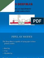 Pipelay Equipment Familiarisation