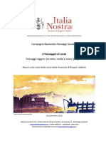 Reggio Calabria Report Sullo Stato Della Costa