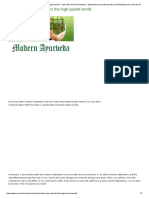 Modernized Ayurveda for the High-speed World - Ayurvedic Home Remedies - Http___www.ayurvedicremedy