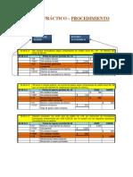 Ejercicio Practico - Procedimiento Global