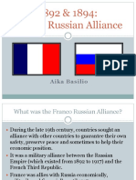 Franco Russian Alliance