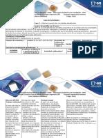 Guia de Actividades y Rúbrica de Evaluación - Fase 3. Elaborar Proyecto Dos Con Bebidas Establecidas