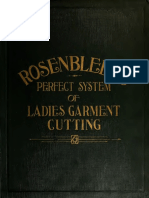 Rosenbleets Perfect System of Ladies Garment Cutting 1911