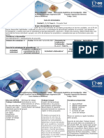 Guia de Actividades y Rúbrica de Evaluación - Fase 6. Proyecto Final