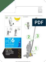 DYSON Dc14 Uk Manual 120710 PDF