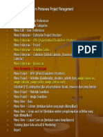 Langkah-langkah Dalam Primavera Project Management