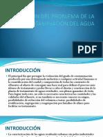 1 Evaluación Del Problema de La Contaminación Del Agua