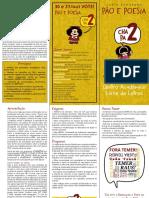 Carta Programa - Pão e Poesia [Color]