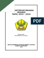Laporan Lab Bahasa 2015 2016