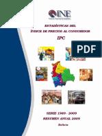 INE(Estadísticas del precio al Consumidor en Bolivia)