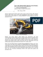 Metode Pengolahan Air Limbah Pertambangan Batubara