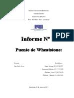 Puente Wheastone