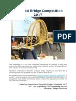 Spaghetti Bridge Competition 2017