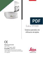 Leica TP1020 Manual 2v7 Es