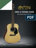 2016 Martin Guitar Care