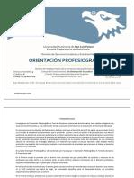 ORIENTACION PROFESIOGRÁFICA