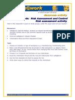Risk Assessment Activity